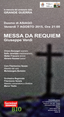 Asiago: Messa da Requiem